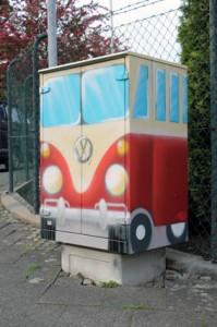 ein VW Bulli mein Liblingsauto