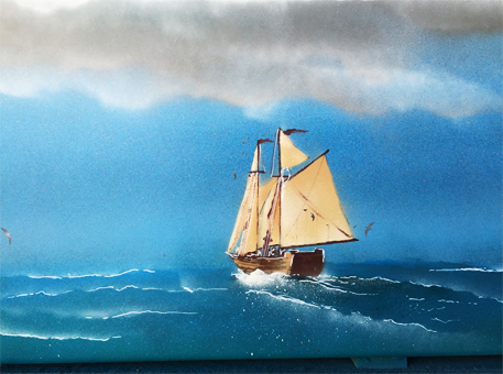 Badewanne-Aktion-Schiff-F