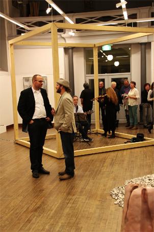 im Gespräch mit dem stellvertretenden Bürgermeister von Bornheim  Jörn Freynick
