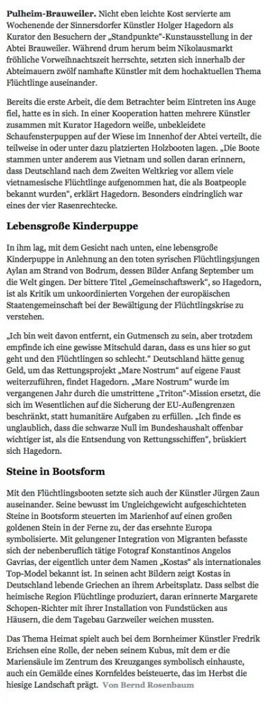 Quelle: KölnerStadt-Anzeiger Online Bild und Text B.Rosenbaum