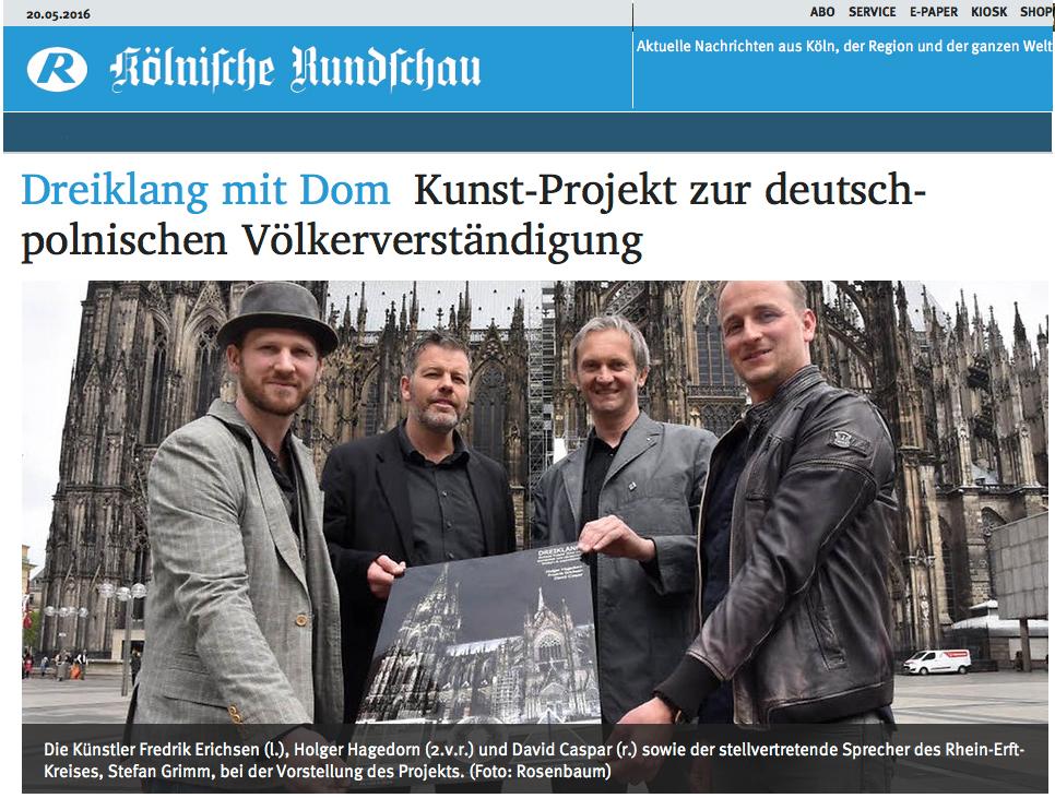 Screenshot Kölnische Rundschau (Bild Rosenbaum)